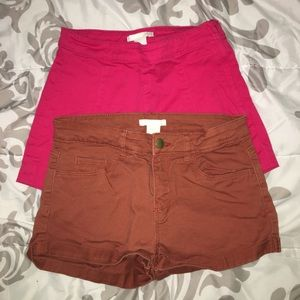 ‼️SET OF 2‼️ H&M Shorts